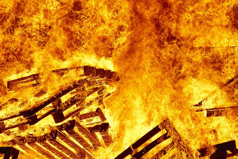 Incendio de local en Ayamonte